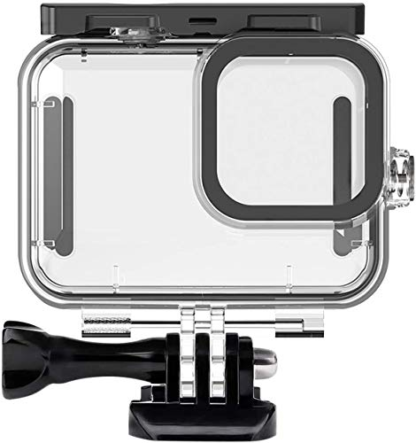 Ouxunus Waterproof Housing Case for GoPro Hero 9 Black(2020), 164FT/50M Waterproof Case Diving Protective Housing Shell for GoPro Action Camera Underwater Dive Case Shell with Mount & Thumbscrew