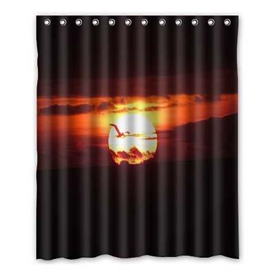 Dalliy Brauch sonne Wasserdicht Polyester Shower Curtain Duschvorhang 152cm x 183cm