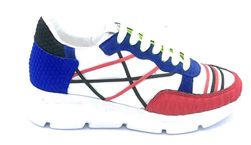 L4K3 68 Sneaker Lacci Rete naylon-Tessuto-camoscio Multicolor - Taglia Scarpa 44 Colore Multicolor