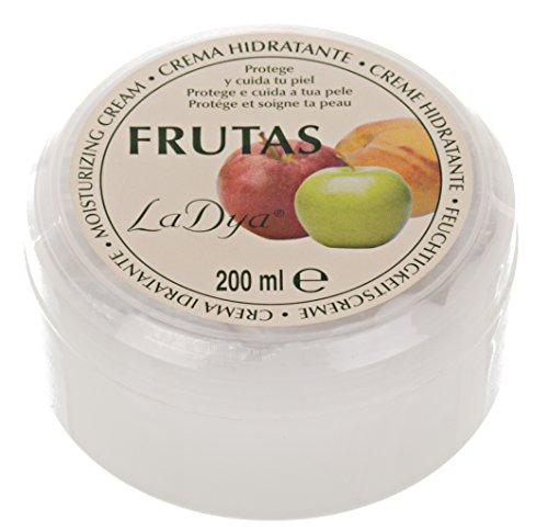 Crema hidratante Ladya frutas 200 ml