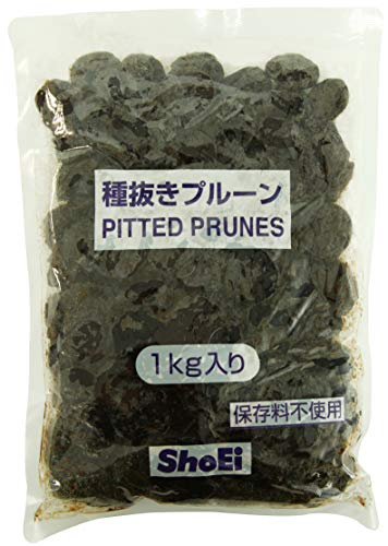 正栄食品工業プルーン1kg 種抜き(業務用・保存料不使用)
