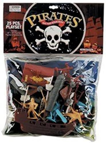 soporte minorista mayorista Pirate Playset (25pcs) (Bagged) Playsets by Playsets Playsets Playsets  100% a estrenar con calidad original.