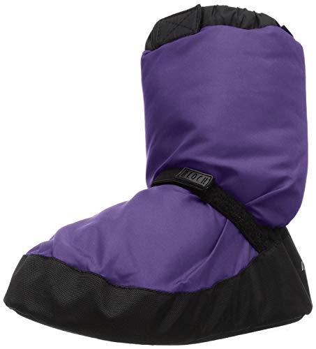 Bloch Damen Warm Up Bootie Stiefel zum Aufwärmen, violett, Medium