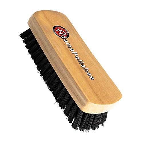 Adam's Cockpit Detailing Brush - Car Cleaning Brush   Scrub Brush for Interior Leather Cleaner Carpet Upholstery Fabric Shoe Sofa Shower Bathroom Pet   Car Wash Kit - Car Cleaning Supplies