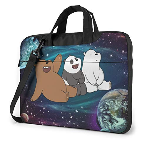 Laptop Sleeve Bag Starry We Bare Bears Laptop Sleeve Case Cover, 13 inchTablet Briefcase, Notebook Sleeve Case