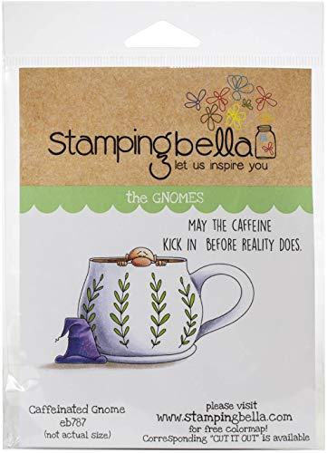 Stamping Bella Cling Stamps-Caffeinated Gnome