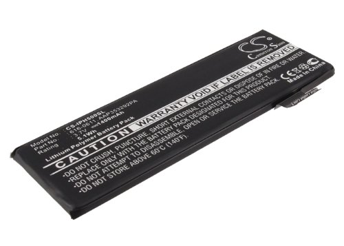 Batteria compatibile con Apple MD657LL/A Li-PL 3.7V 1400mAh - 616-0611, AAP353292PA, 616-0613