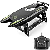 RC Boats for Kids Adult 25KM/H High Speed Racing Boat 2 Channels Remote