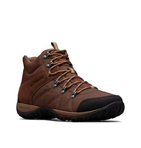 Columbia Men's Peakfreak Venture Boot , dark brown, clean green 11.5 Regular US