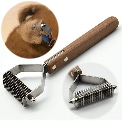 onebarleycorn - Coat King der Trimmstriegel, der Timmer für Hunde ist unübertroffen in Seiner Wirkungsweise, ab 14 Trimmmesser Ideal Auch für Terrrier (S:184 * 62mm)
