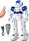 KingsDragon RC Robot Toys for Kids, Gesture & Sensing Programmable Remote Control Smart Robot for Age 3 4 5 6 7 8 Year Old Boys Girls Birthday Gift Present