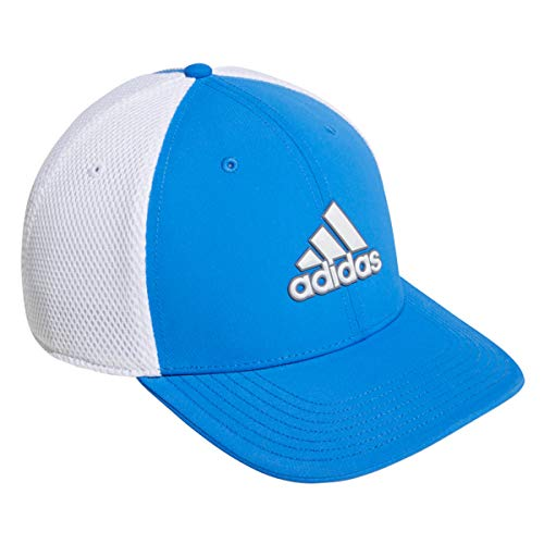 adidas Hombre'S A-Stretch Tour Gorra Béisbol - Azul Auténtico/Blanco, Large/X-Large