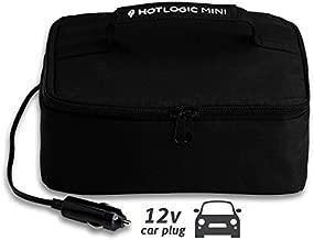Hot Logic 16801045-BLK Food Warming Tote 12V, Lunch, Black
