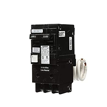Siemens QF230AP 30 Amp 2 Pole 120/240V Ground Fault Circuit Interrupter with Self Test and Lockout Feature
