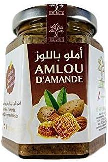 Amlou d'amandes - Pâte à tartiner à l'huile d'argan et Miel Pur du Maroc ( 200 / 400 G ) (400 G)