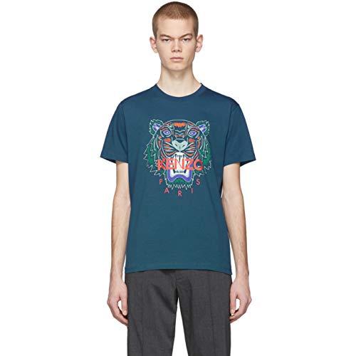 Camiseta Tiger Kenzo K49 P 196, Blau XL