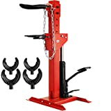 VEVOR 3 Ton Capacity Strut Compressor 6600LBS Auto Strut Coil Spring Compressor with 4 Snap Joints Air Hydraulic Tool for Car Repairing and Strut Spring Removing