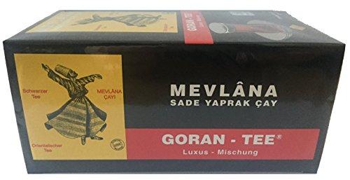 Mevlana Goran Tee Beuteltee Luxus Mischung Schwarzer Tee 25 Beutel