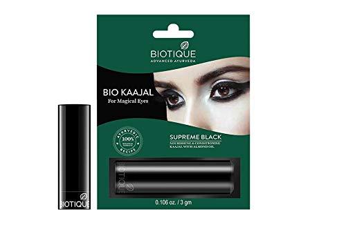 Biotique Bio Kaajal Kajal Eye Definer 3gms Nourishing & Conditioning Eye Liner with Almond Oil *Ship from UK