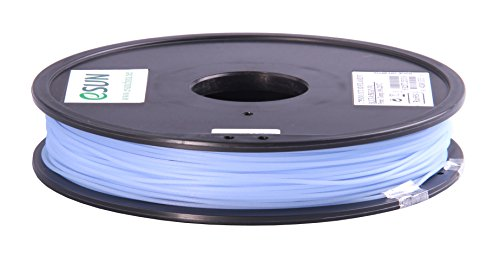eSun CCT 3D Drucker Filament, Color change by temperature, 0.5kg / 1.75mm - Blau zu Natural (blue to natural), Druck Tempe. 190-220 Grad C, Universal für 3D Drucker z.B. MakerBot RepRap MakerGear Ultimaker Mendel Huxlep UP Thing-o-matic