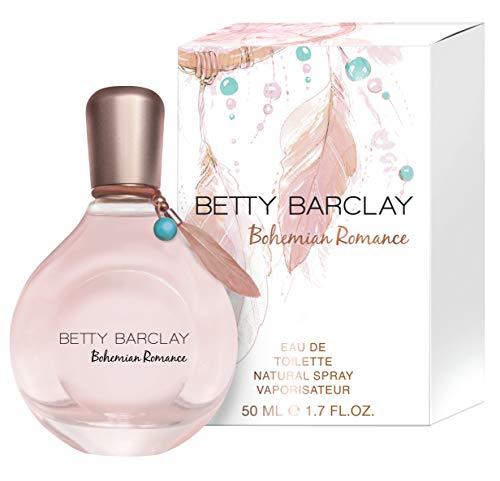 Betty Barclay® Bohemian Romance I Eau de Toilette - zart - floral - romantisch - ein Duft voller Lebendigkeit und Leichtigkeit I 50ml Natural Spray Vaporisateur