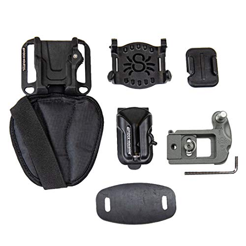Spider X Backpacker Kit Holster, Rucksackadapter und Kameraplatte