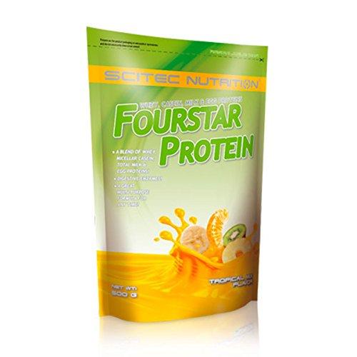 SCITEC Nutrition Fourstar Protein - 500 gr Fresa-Choco Blanco