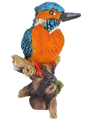 Eisvogel 13 x 8 cm EIS Vogel Tier Figur Herbst Deko GG 7754