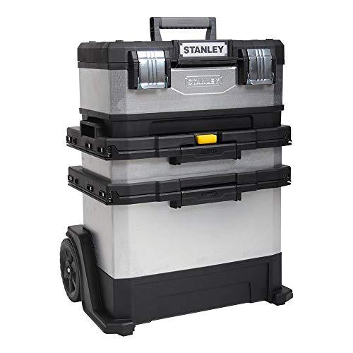 Stanley 1-95-833 Boîte à outils roulante Argent