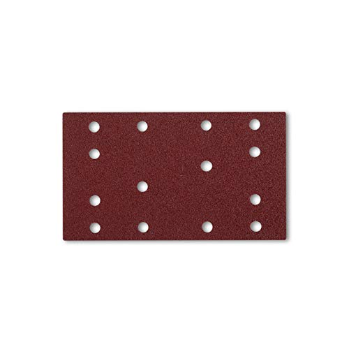 Papel De Lija Con Velcro 80 X 133 Mm