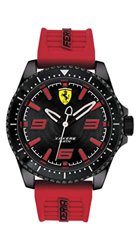 Scuderia Ferrari Analog Black Dial Men's Watch-0830498
