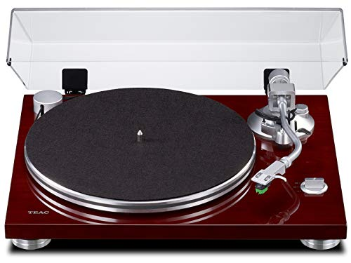 TEAC Analog Turntable with Built-in Phono Amplifier (Cherry) TN-3B-CH【Japan Domestic Genuine Products】【Ships...