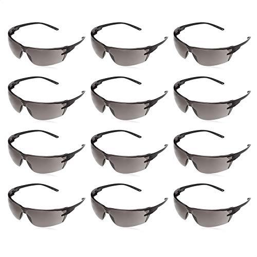 AmazonCommercial Safety Glasses (Gray/Black...