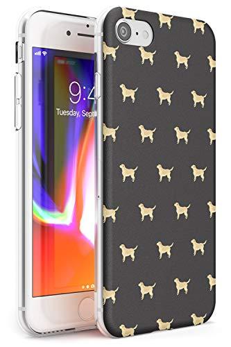 Motivo Tan Labrador Dog Slim Cover per iPhone 6 TPU Protettivo Phone Leggero con Animale Domestico Cucciolo Razza Animale Design
