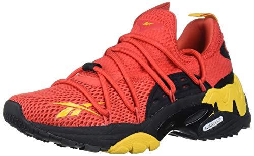 Reebok Unisex-Kid's TRIDECA 200 Running Shoe, Radiant Red/Fierce Gold/Black, 3.5 M US Big Kid