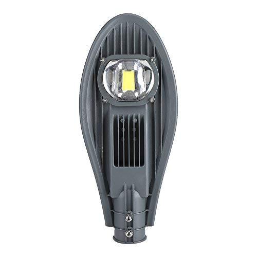 Lampe de Rue Éclairage LED Crépuscule à l'Aube Étanche IP65 pour Passerelle Jardin (50W-Bianco)
