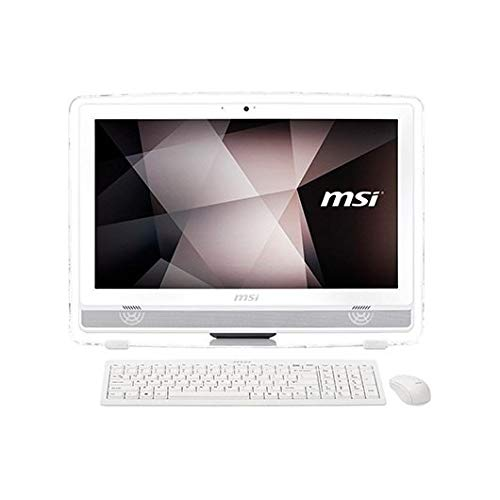 MSI Pro 22ET 7NC-215EU - Ordenador de sobremesa Todo en uno táctil de 21.5' HD (Intel Core i3-7100, 4 GB DDR4, 1TB HDD, Nvidia GeForece 930MX de 2GB, Windows 10) Blanco