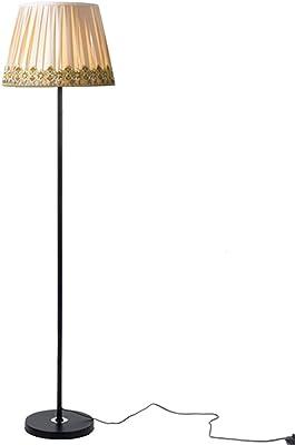 Lámpara De Dorada Qazqa Moderno Pie Redonda Negra Moderna 50cm zqVpSLUMG