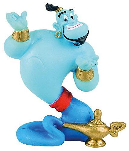 Bullyland 12472 - Spielfigur, Walt Disney Aladdin, Dschinni, ca. 7,5 cm, ideal als Torten-Figur, detailgetreu, PVC-frei, tolles Geschenk für Kinder zum fantasievollen Spielen