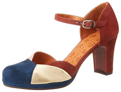 Chie Mihara Jamel, Zapatos con Tacon y Correa de Tobillo Mujer