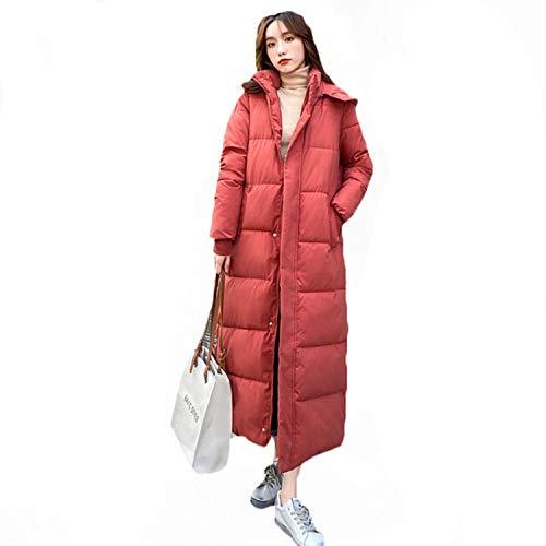 Moda Abajo Acolchada Chaqueta De Las Mujeres Coreano Suelto 2020 Nuevo Invierno Abrigos De Sección Larga Parkas Sobre La Rodilla Chaquetas De Algodón b709