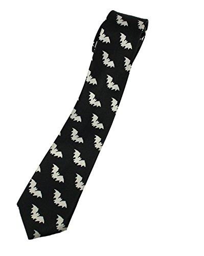 Zac's Alter Ego Battes blanches sur cravate noire