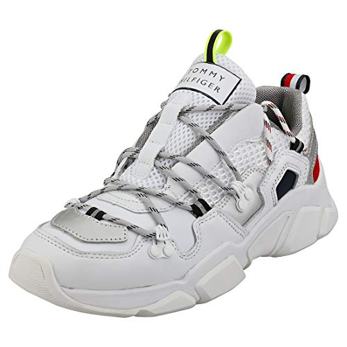 TOMMY HILFIGER CITY VOYAGER CHUNKY SNEAKER Sneakers dames Wit Lage sneakers