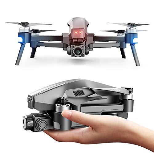 BaiTTang GPS Drone con cámara de 2 kigas de 2 Ejes, EIS □ Anti-Shake, 5G WiFi FPV Video en Vivo Motor sin escobillas RC Quadcopter, Rango de Control de 650 pies Largo, Vuelo de 25 Minutos