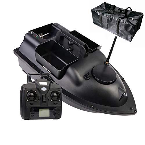 HAN XIU Barco de Cebo de Pesca, posición de GPS Multifuncional Auto Cruise Control Remoto Pesca Barco de Cebo con Motores Dobles y Bolsa de Almacenamiento,GPS12000mA