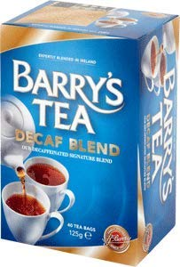 Barrys Tea Decaffeinated 40 bag x 2 (250g) (80 count)