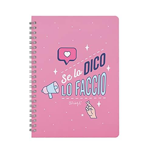 Cuaderno pequeño - Si lo digo lo hago