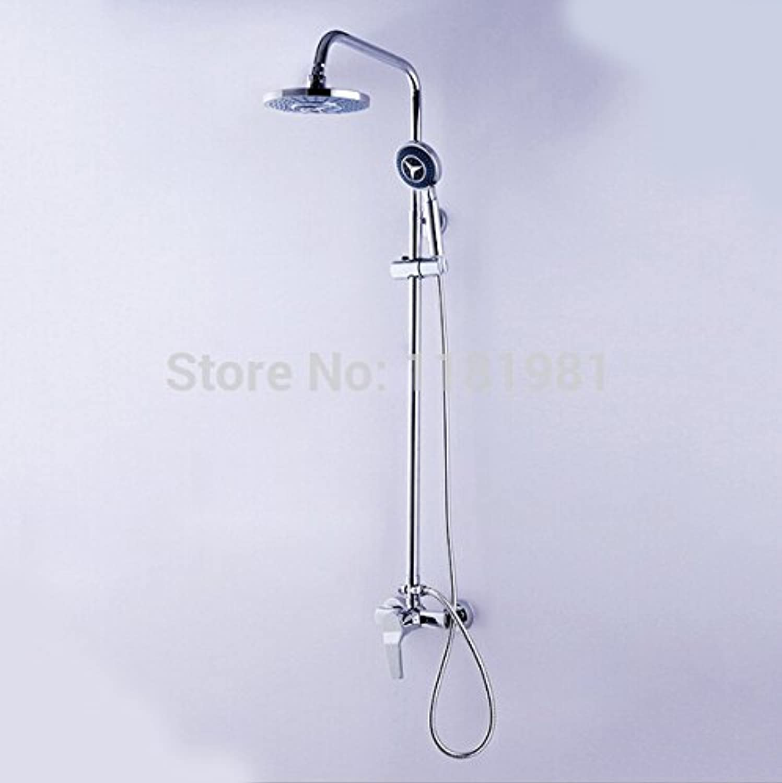 Electroplating Retro Faucet 1 pcs New Shower Set Faucet Bathroom Shower Head Mixer Tap 1044,White