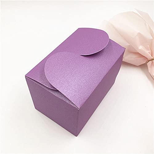 BAWAQAF Cajas de Regalo, Caja de Pastel de Papel Natural de 30 Piezas, Caja de Embalaje de Regalo de Fiesta, Caja de Galletas/Dulces/nueces/Caja de Embalaje de Bricolaje, Caja de Dulces de Boda