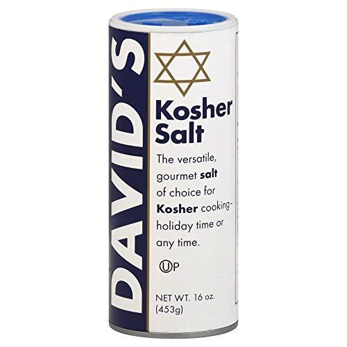 David#039s Kosher Salt Canister 160 OzPack of 3